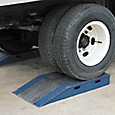 wheel riser ramps